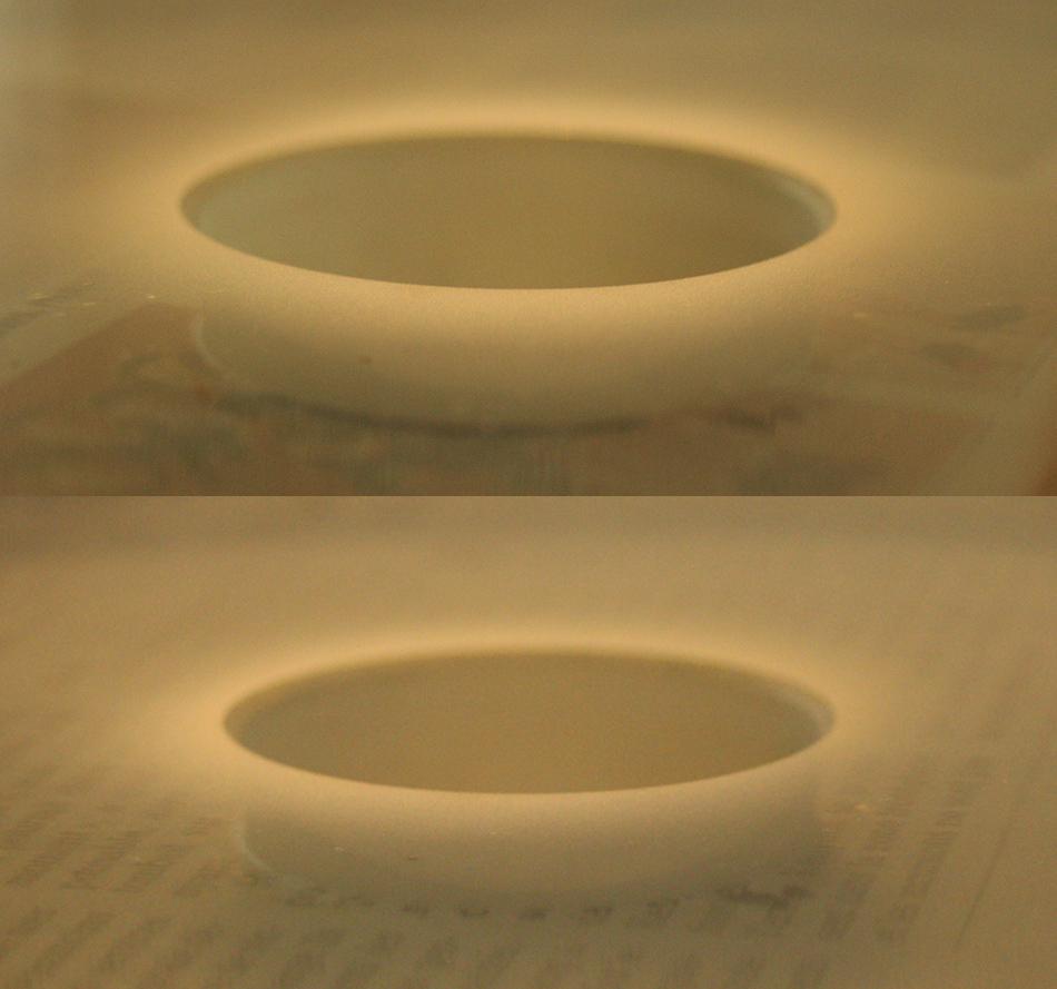 Journal du polissage la parabolisation r alisation d for Miroir cassegrain