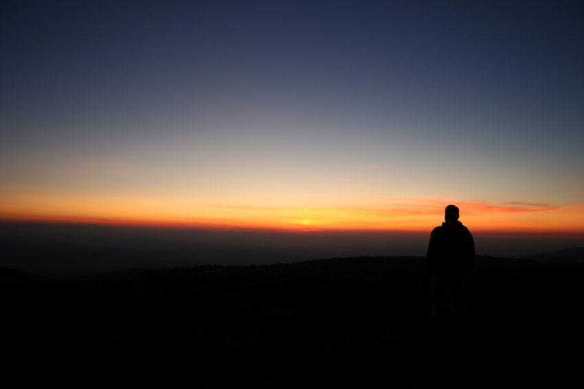 Forez sunset
